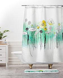 Deny Designs Iveta Abolina Silver Dove Christmas E Bath Mat