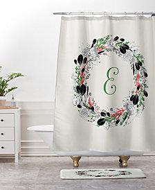 Deny Designs Iveta Abolina Silver Dove Christmas C Bath Mat
