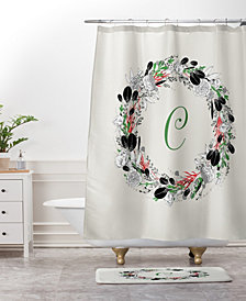 Deny Designs Iveta Abolina Silver Dove Christmas Noel Bath Mat