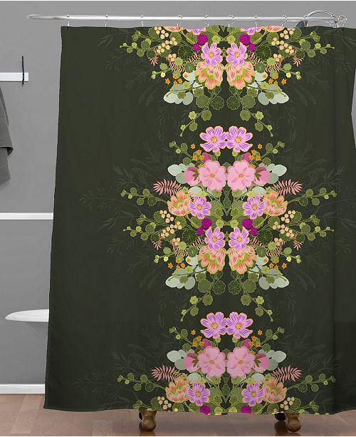 Deny Designs Iveta Abolina Allete Night Shower Curtain