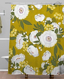 Iveta Abolina Fleurette Midday Shower Curtain