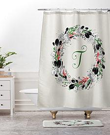 Deny Designs Iveta Abolina Silver Dove Christmas X Bath Mat