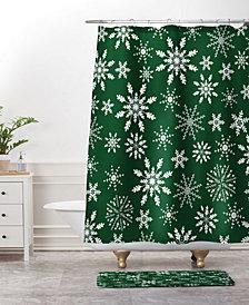 Deny Designs Iveta Abolina Oslo Winter Frost Bath Mat