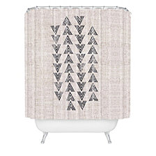 Deny Designs Holli Zollinger French Linen Tri Arrow Shower Curtain