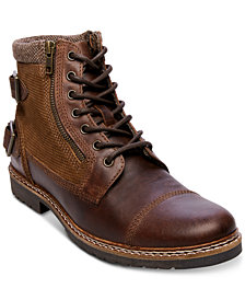 Steve Madden Men's Wanted Lace-Up Boots