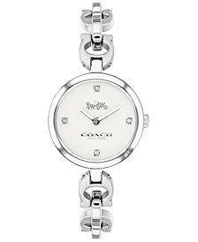 Women's Signature Chain Stainless Steel Chain Bracelet Watch 26mm