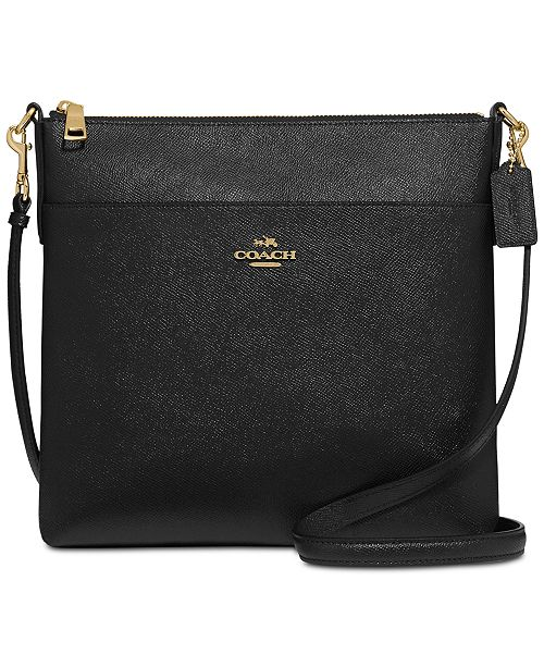 ce7a85cb2c32 COACH Messenger Crossbody in Crossgrain Leather   Reviews - Handbags ...