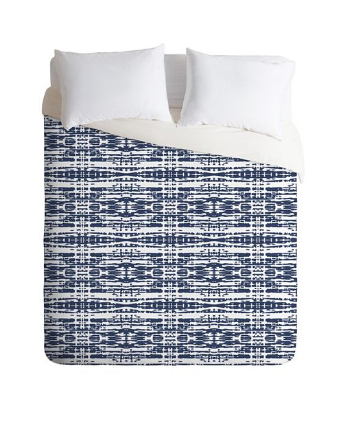 Deny Designs Holli Zollinger Woven King Duvet Set