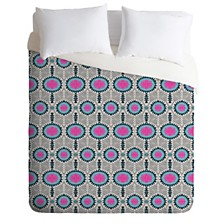 Deny Designs Holli Zollinger Zebrini Tribal Samba Queen Duvet Set