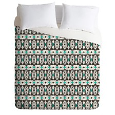 Deny Designs Holli Zollinger Marais Tribal Queen Duvet Set