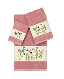 Serenity 3-Pc. Embellished Towel Set