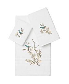 Springtime 3-Pc. Embellished Towel Set