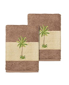 Colton 2-Pc. Embellished Washcloth Set