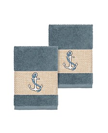Easton 2-Pc. Embellished Washcloth Set