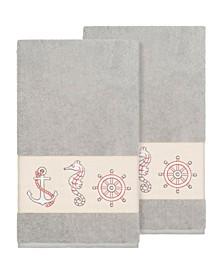Easton 2-Pc. Embellished Bath Towel Set