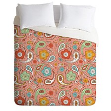 Heather Dutton Adora Paisley Queen Duvet Set
