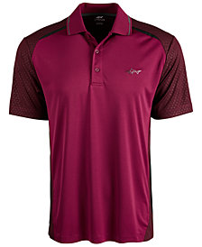 Attack Life by Greg Norman Men's Shadow Regular-Fit PlayDry Performance Stretch Colorblocked Polo