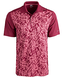 Attack Life by Greg Norman Men's Turney Regular-Fit Performance Stretch PlayDry Jacquard Polo