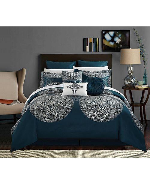 Chic Home Orchard Place 9-Pc Queen Comforter Set