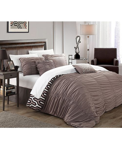 Chic Home Lessie 7-Pc Queen Comforter Set