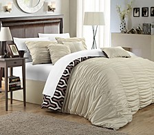 Lessie 7-Pc Queen Comforter Set