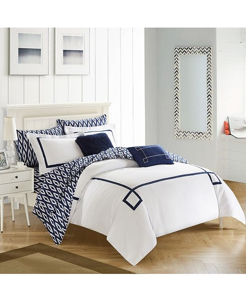 Chic Home Trace 9-Pc. Comforter Sets