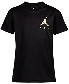 Jordan Big Boys Air Ball-Print T-Shirt