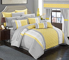 Chic Home Danielle 24-Pc Queen Comforter Set