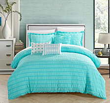 Chic Home Hadassah 6-Pc Queen Comforter Set