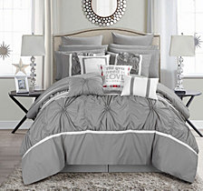 Chic Home Ashville 16-Pc Queen Comforter Set