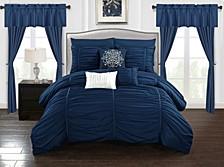 Avila 20-Pc Queen Comforter Set