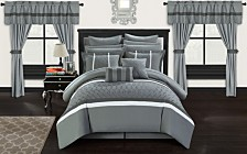 Chic Home Dinah 24-Pc Queen Comforter Set