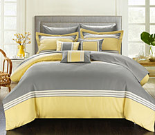 Chic Home Falcon 10-Pc King Comforter Set
