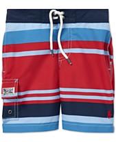 9c8afb95255d0 Polo Ralph Lauren Little Boys Kailua Striped Swim Trunks