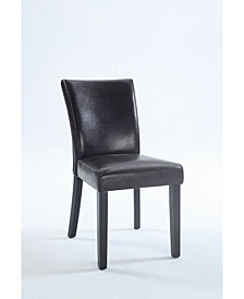 Bella Luna Bella Luna Bonded Leather Parsons Chair (Set of 2)
