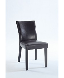 Bella Luna Bella Luna Bonded Leather Parsons Chair (Set of 2)