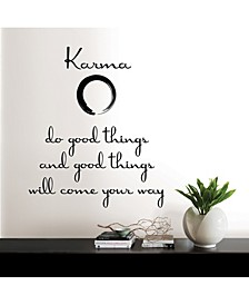 Karma Wall Quote