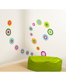 Candy Dot Wall Stickers Set Of 36