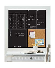 Black 4 Piece Organizer Kit