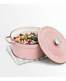 Martha Stewart Collection 6-Qt. Enameled Cast Iron Dutch Oven, Created for Macy's