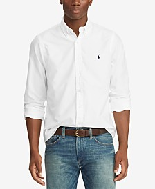 Polo Ralph Lauren Men's Classic Fit Garment Dyed Oxford Shirt