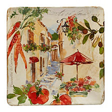 Certified International Piazette Square Platter