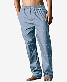 Men's Big & Tall Cotton Pajama Pants
