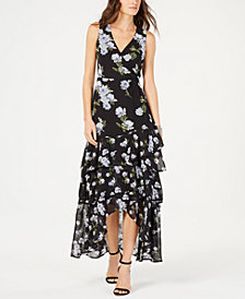 I.N.C. Petite Tiered-Hem Maxi Dress, Created for Macy's