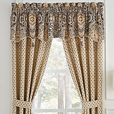"Croscill Philomena  Pole Top 82"" x 95"" Collection Window Treatments"