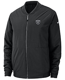 Nike Men's Oakland Raiders Bomber Jacket