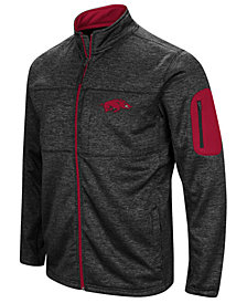 Colosseum Men's Arkansas Razorbacks Glacier Full-Zip Jacket