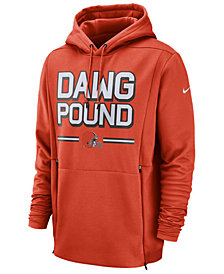 Nike Men's Cleveland Browns Sideline Player Local Therma Hoodie