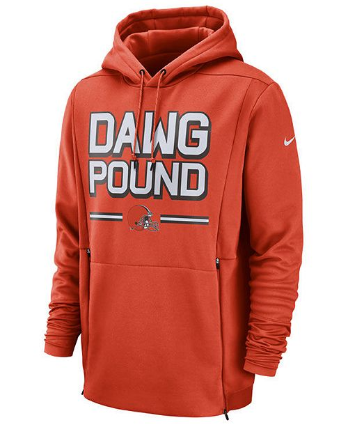 be110311 Nike Men's Cleveland Browns Sideline Player Local Therma Hoodie ...