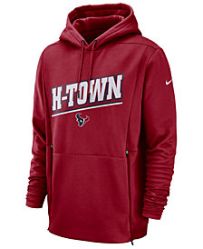 Nike Men's Houston Texans Sideline Player Local Therma Hoodie